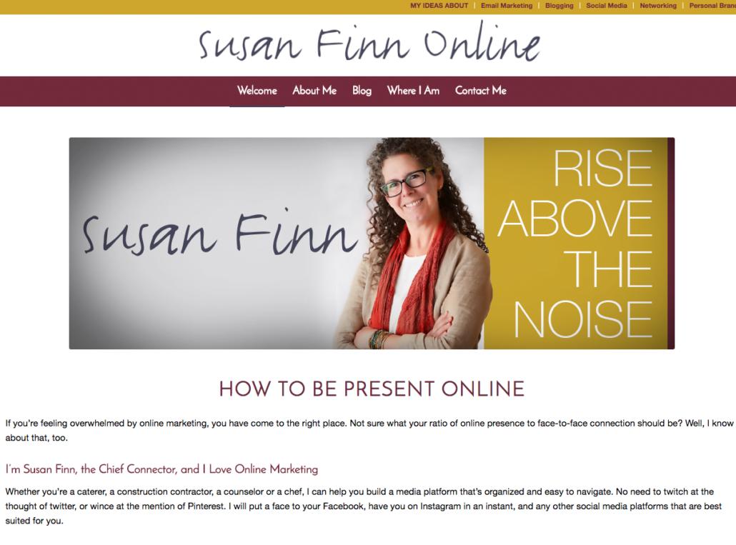Susan Finn Online