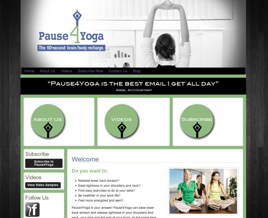 Pause 4 Yoga