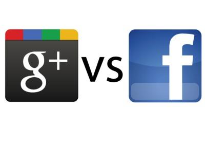 google-plus-vs-facebook-logo