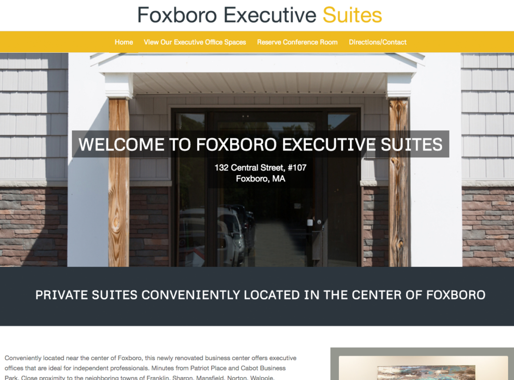 Foxboro Executive Suites