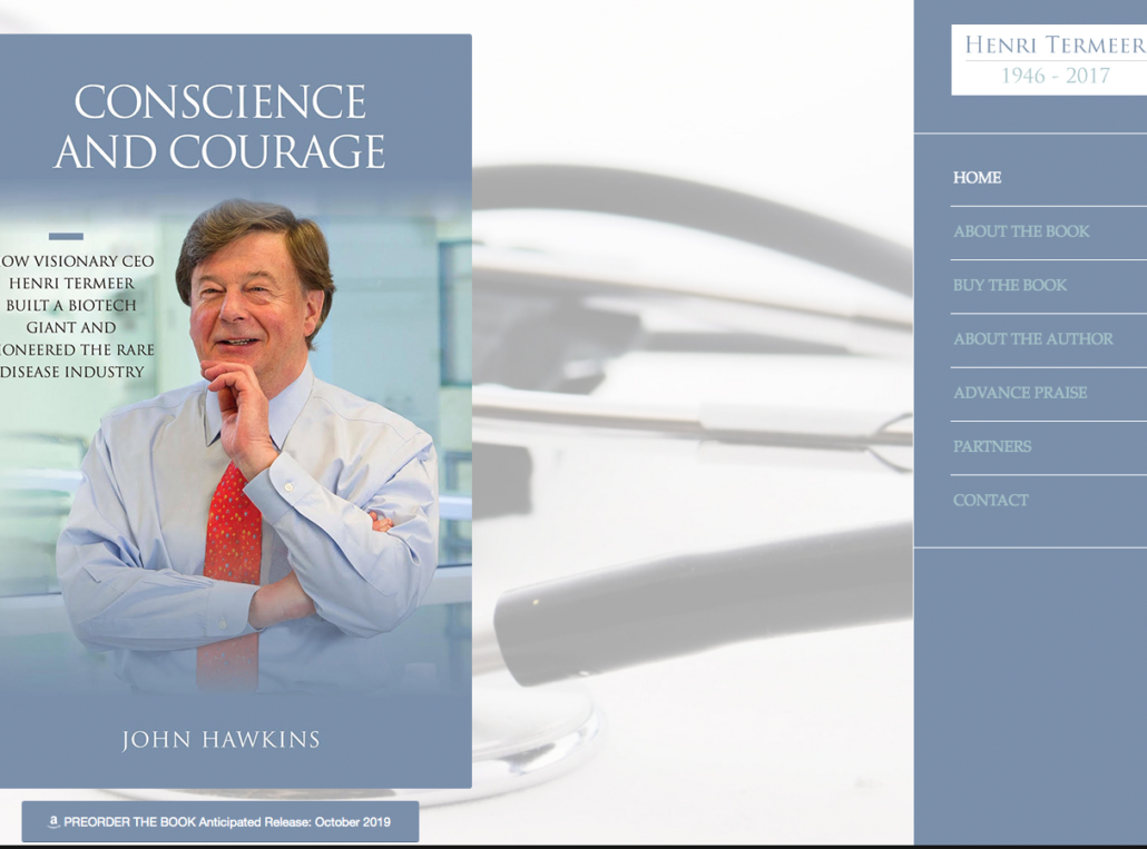 Conscience and Courage: Author Website