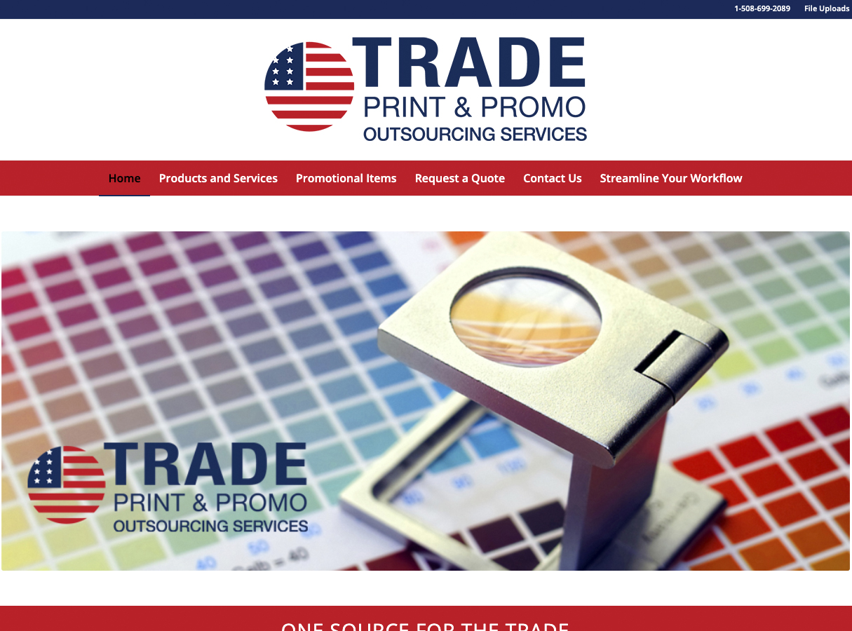 Trade Print and Promo Outsourcing Services