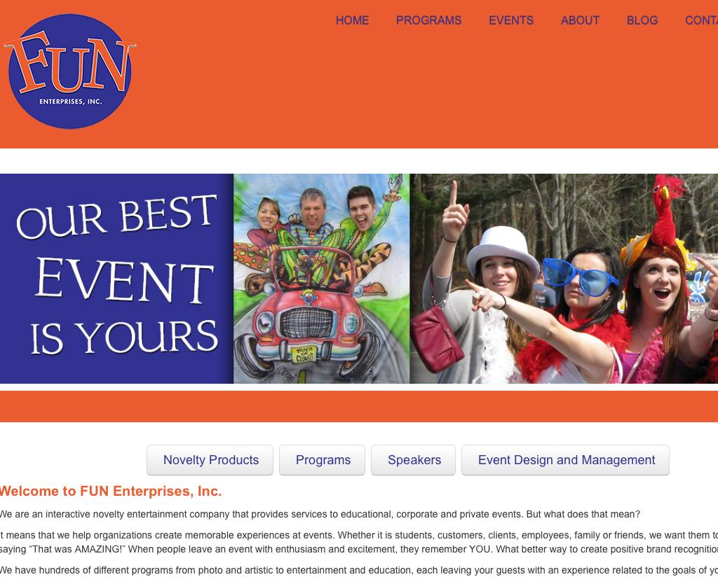 Fun Enterprises Inc.